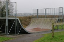 The Skate Ramp in Preston Candover.